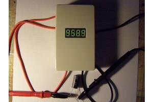 Тестер ёмкости и ЭПС конденсаторов без  выпаивания из платы