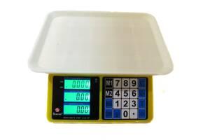 Торговые электронные весы до 40 кг Domotec MS-266 (par_MS 266)