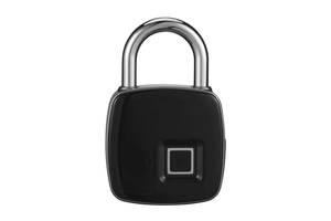 Умный замок Fingerprint lock Anytek с отпечатком пальца водонепроницаемый навесной (par_lock)