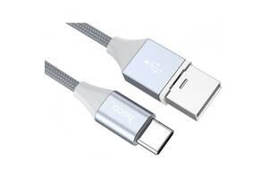 USB кабель Type-C HOCO-U40В Gray magnetic (Код товару: 13241)