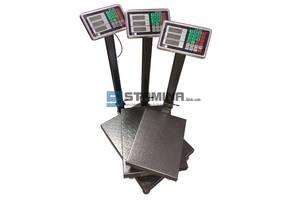 Весы товарные со стойкой ВТ-С от 300х400 мм до 450х600 мм на 100 и 300 кг