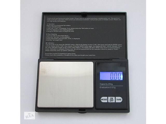 купить бу Высокоточные ювелирные весы до 200 Kronos (0.01) (bks_00551) в Киеве