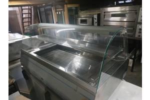 Витрина тепловая новая по цене бу мармит б у для кафе столовой Igloo WCHC 130 Gn
