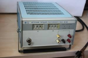 Источник постоянного тока лабораторный Б5-48 (50В, 1А)