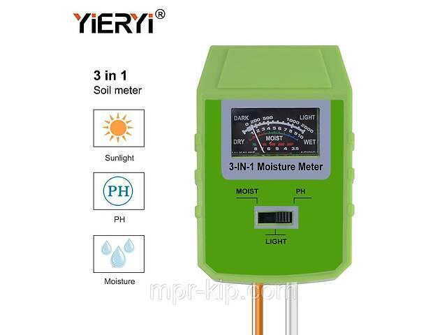 продам Измеритель кислотности pH, влажности, освещенности почвы YiERYi ЕТП-304 (3 в 1) бу в Львове