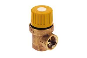 Предохранительный клапан Icma 1/2& quot; х3/4& quot; ВР для гелиосистемы №S121