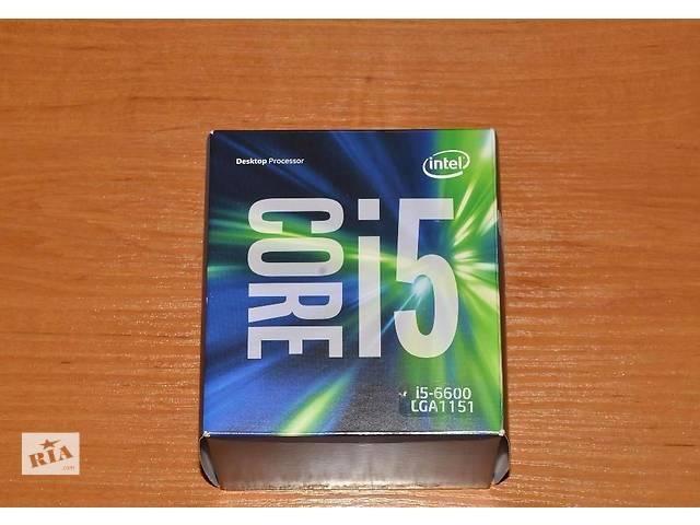 купить бу Intel Core i5-6600 3.3GHz - Гарантия от Rozetka 36 месяцов в Киеве