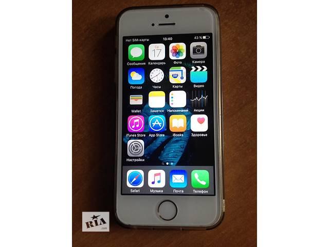 купить бу iPhone 5S 16GB Gold Залоченый в Полтаве