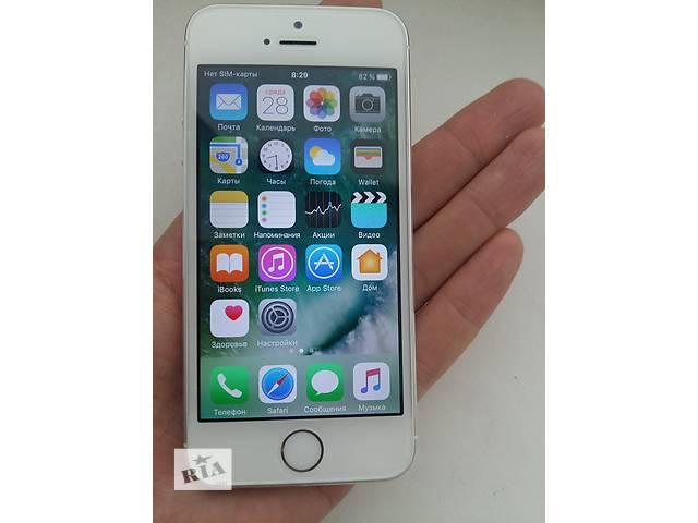 продам  Iphone 5s 16Gb Silver. Чек, гарантия бу в Киеве