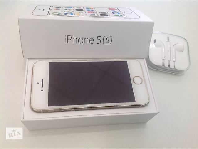 купить бу IPhone 5s Gold 16 GB в Чернигове