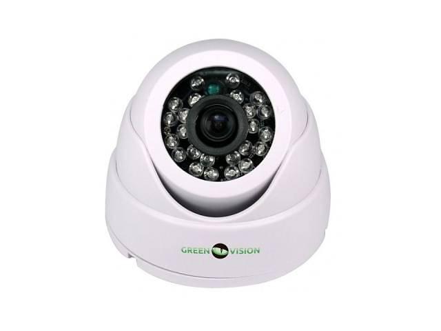 купить бу Камера видеонаблюдения GreenVision GV-037-GHD-H-DIS20-20 (3.6) (4643) в Киеве