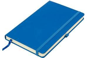 Блокнот Thinkme Silky синий с твердой обложкой