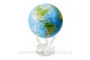 """Гиро-глобус Solar Globe Mova """"Физическая карта Мира"""" 11,4 см (MG-45-RBE)"""