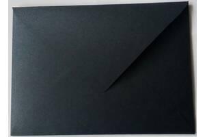 Конверт черный С6