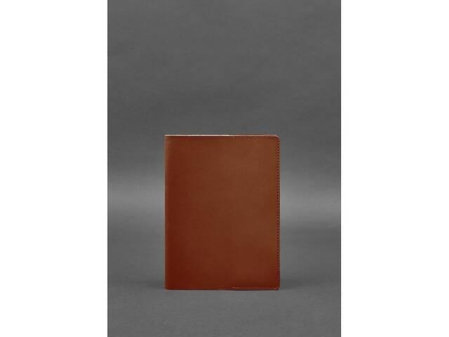 продам Кожаная обложка для блокнота 6.0 (софт-бук) светло-коричневая BlnkntBN-SB-6-k бу в Киеве