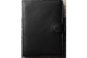Кожаный ежедневник А5 Betterson CLASSIC Black, черный