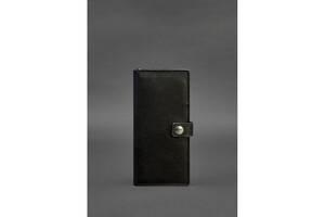 Кожаный Тревел-кейс (органайзер для документов) 6.0 черный BlnkntBN-TK-6-g