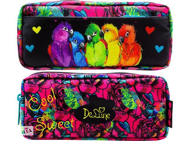 продам Мягкий школьный пенал Delune, разноцветный бу  в Украине
