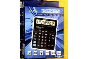 Настольный калькулятор с двумя дисплеями Daymon DC-231M