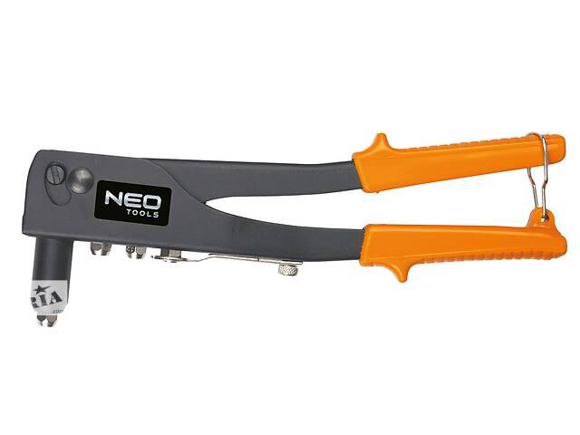 бу Neo Tools 18-101 Заклепочник для металлических и алюминиевых заклепок 2.4, 3.2, 4.0, 4.8 мм в Киеве