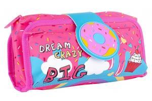 Пенал мягкий Yes Dream crazy розовый голубой