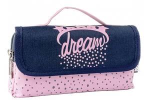 Пенал мягкий Yes Dream розовый синий