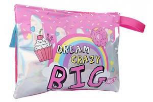 Пенал органайзер мягкий Yes Dream crazy розовый