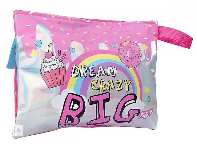 купить бу Пенал органайзер мягкий Yes Dream crazy розовый в Киеве