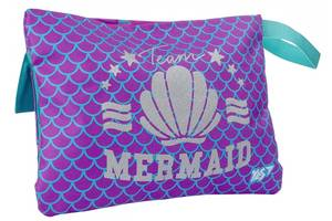 Пенал органайзер мягкий Yes Mermaid фиолетовый