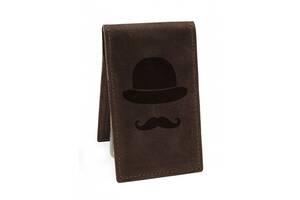 Визитница Джентльмен М01 коричневая SKL47-177616