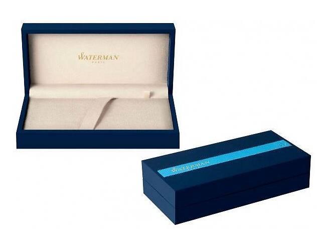 продам Яркая ручка перьевая Waterman Carene Deluxe Blue/silver FP 11 202 синий бу в Киеве