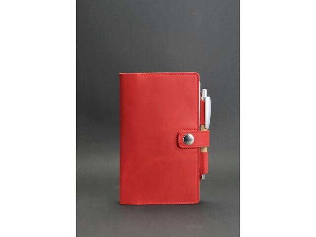 Женский кожаный блокнот (Софт-бук) 4.0 коралловый BlnkntBN-SB-4-coral- объявление о продаже  в Киеве