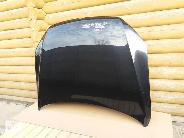 продам Б/у оригинал КАПОТ VW Passat В7 ЕВРОПА 2010-2014 (Запчасть ПОД ПРИБОР ЦВЕТ LC9X Чёрный Металлик) 121120 бу в Ковеле