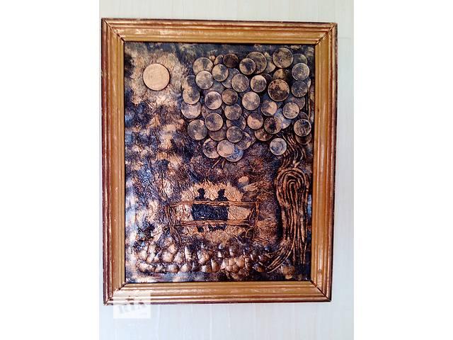 продам Картина панно из монет Двое под луной бу в Херсоне