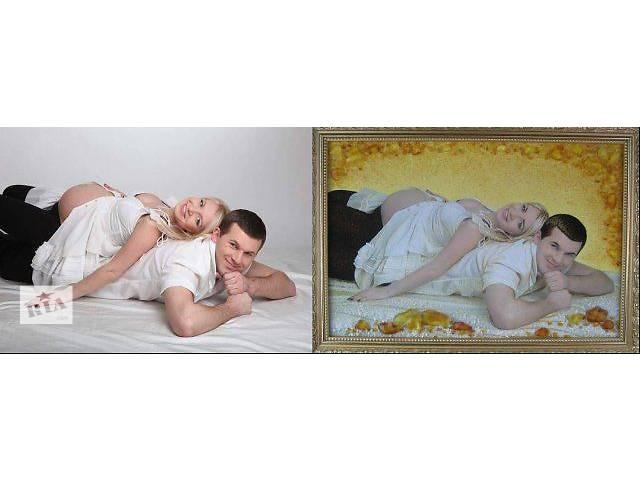 купить бу Картины из янтаря (портреты) в Киеве