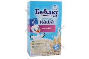 Каша овсяная молочная «Беллакт» 200 г Страна производства:Беларусь