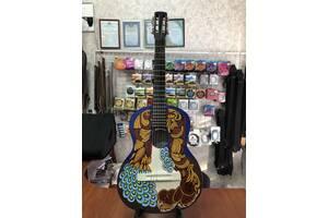 (4749) Гітара з Росписью Нові Колки та Струни