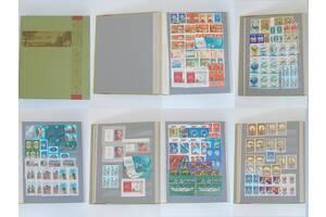 №528 Альбом с отличными марками коллекционерам 896 штук много повторяющихся