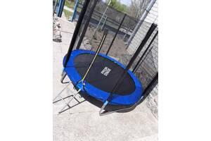БАТУТ MS 0496 (244см) Profi Action с лестницей, сеткой, защитой