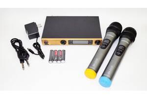 Беспроводная радиосистема на два микрофона Shure SM58 ii + чехол