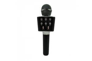 Беспроводной караоке микрофон колонка Bluetooth радиомикрофон Wster WS 1688 Black Черный (par_WS1688_1)