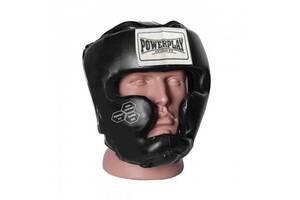 Боксерский шлем тренировочный PowerPlay 3043 Черный S SKL24-252438