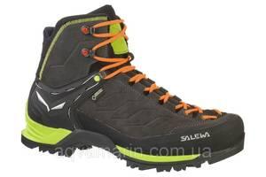 Ботинки Salewa MS MTN Trainer Mid GTX, Чёрно-зелёный (45)