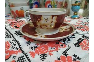 Чайна чашка з блюдцем