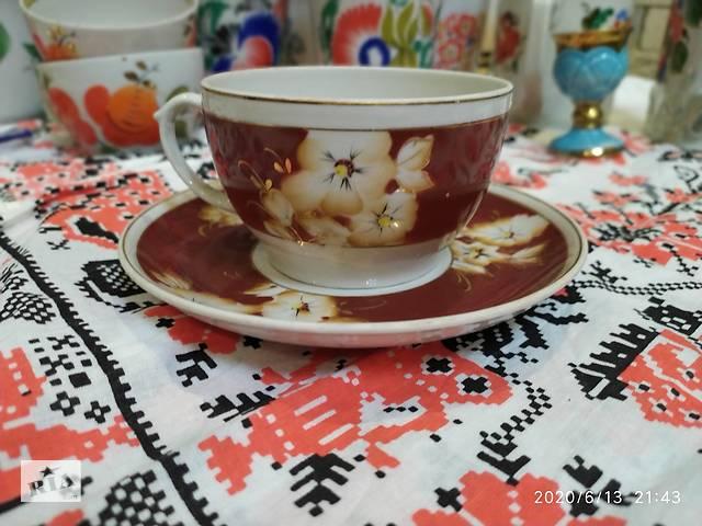 бу Чайная чашка с блюдцем в Одессе