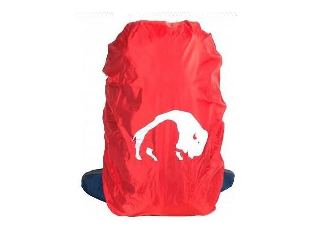 купить бу Чехол-накидка для рюкзака Tatonka  RAIN FLAP M red из нейлона, красный, на 55 л. TAT 3109.015 в Киеве