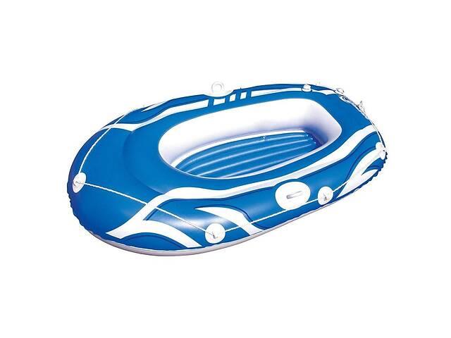 купить бу Детская надувная лодка Bestway 61050 155х93 см Синий (bint_61050B) в Києві