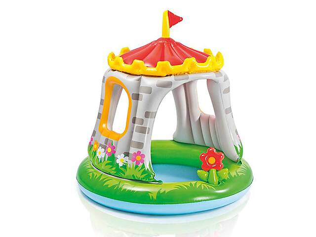 продам Детский бассейн Intex Королевский Замок (57122) бу в Киеве