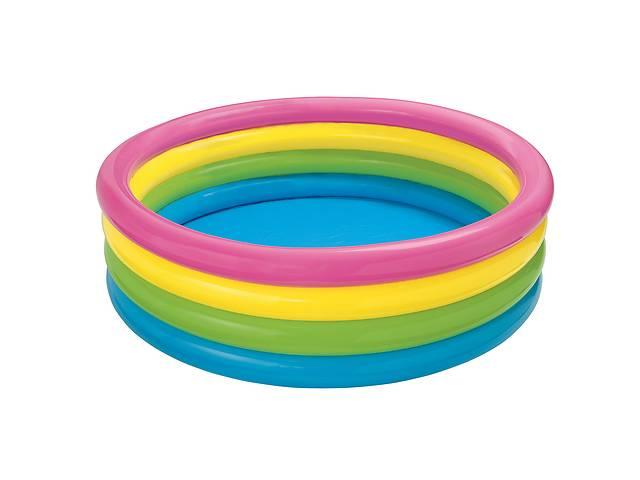 продам Детский надувной бассейн Intex 56441 «Радуга», 168 х 46 см бу в Одессе