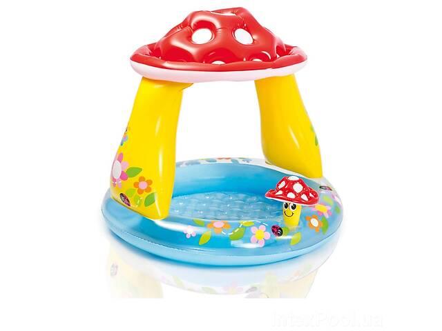 бу Детский надувной бассейн Intex 57114 «Грибочек», 102 х 89 см (hub_eyes2e) в Одесі
